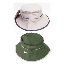 Men's Wide Brim Bucket Hat Boonie Hunting Fishing Hiking Outdoor Military Cap