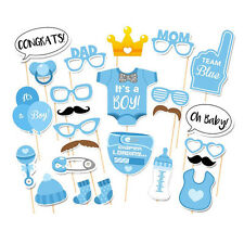 Top Sale 25Pcs Boys Girls Birthday Decoration Party Photo Booth Props Supplies