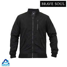 Mens Brave Soul 'Downing' Jacket Shower Proof Rain Mac Bomber Coat Lightweight