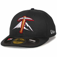 Tacoma Rainers New Era Low Crown Diamond Era 59FIFTY Fitted Hat - Black - MiLB