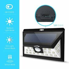 Litom Solar Light Bright LED Outdoor Solar Motion Security Lighting With LEDs