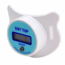 Baby Safety Mouth Nipple Pacifier Temperature Health LCD Digital Thermometer