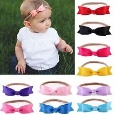 Cute Kids Girls Baby Toddler Bow Flower Headband Hair Band Accessories Headwear