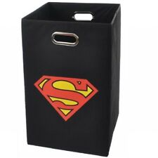 Modern Littles Superman Logo Folding Laundry Basket