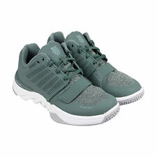 K-Swiss X Court Athleisure Mens Green Synthetic Athletic Training Shoes