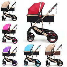 Top Baby Belecoo Carriage Folding Stroller Buggy Pushchairs Travel System Pram