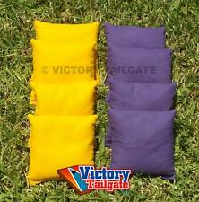"8 All Weather Regulation 6""x6"" Duck Cloth Cornhole Bags (choose your colors)"