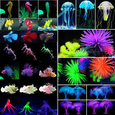 Artificial Fake Plant Coral Jellyfish For Aquarium Fish Tank Decoration Ornament