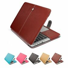 1pc for MacBook Air 11 13 Pro 13 15 PU Leather Laptop Cover Case Hot Sale