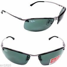 NEW 100%UV RB3183-711 RAY BAN METAL MEN SPORT CYCLING SURFING 100%UV FROM ITALY