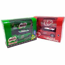 NESTLE KIT KAT MILO Toy Model Mini Cooper with Kitkat Wafer Milo Choco Limited