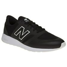 New Mens New Balance Black 420 Nylon Trainers Retro Lace Up