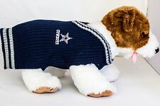 Dallas Cowboys Dog Sweater NFL Football Officially Licensed Pet Product
