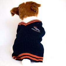 Denver Broncos Dog Sweater NFL Football Officially Licensed Pet Product