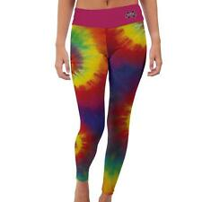Mississippi State University Bulldogs Womens Yoga Pants Tie Dye  Design