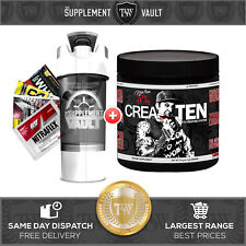CREATEN by 5% nutrition   Rich Piana   30 SERVES   Creatine   Muscle growth