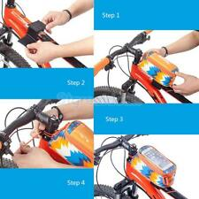 "Cycling Waterproof Bike Front Tube Frame Pannier Case Bag for 5.2"" Cell Phone"