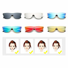 M Nail Decorated Integrated Metal Frame Colorful Lens UV400 Sunglasses F5