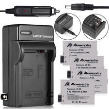 LP-E8 Battery & Charger for Canon Rebel T5i T4i T3i T2i Kiss X5 EOS 550D 600D