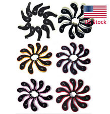 Set of 10 Neoprene Zippered Golf Club head Iron Covers Free shipping