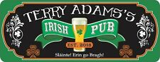 Custom Irish Pub Erin go Bragh  Irish Pub Sign Man Cave Banner Bar Sign C1366
