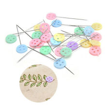 100X Patchwork Pins Flower Button Head Pins Quilting Tool Sewing Accessories Sd
