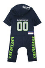 Seattle Seahawks Dog Uniform One-Piece Licensed NFL Football Pet Product