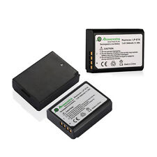 1500mAh LP-E10 LPE10 Battery for Canon Rebel T3 T5 / EOS 1100D 1200D / Kiss X50