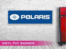POLARIS PVC Vinyl Banner Sign For Garage Workshop Track Advertisement