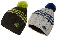 adidas Rope 3S Chunky Knit Fleece-Lined Mens Winter Beanie Hat ALL COLOURS
