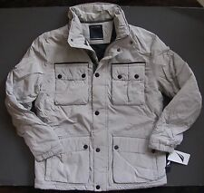 Nautica Mens Parka Anorak Puffer Jacket Military Outer wear Size XL NEW Genuine