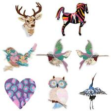 Lovely Animal Sequined Patch Applique for DIY Sewing Embroidery Crafts