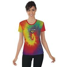 Towson University Tigers Womens Short Sleeve Shirt Tie Dye  Design