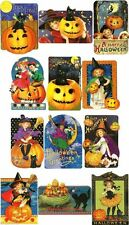 1 PK OF 3 Blank Inside HALLOWEEN GIFT/NOTE CARDS by THE GIFTED LINE Punch Studio