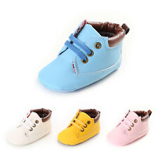 New Baby Boy Girl Casual Crib ankle boots Infant Toddler non-Slip Prewalker#BS59