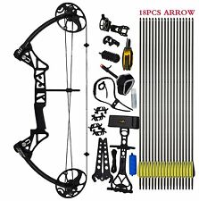 """Compound Bow Package,M1,19""""-30"""" Draw Length,19-70Lbs Draw Weight,320fps IBO"""