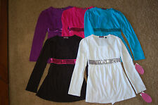 NWT Girls Tempted Girls Sequin Belted Top 5 Colors Sizes M L Really nice LQQK FS