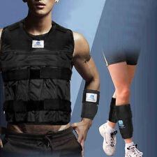 Weighted Vest Jacket Wrist Leg Ankle Adjustable Fitness Training Exercise Empty