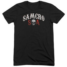 Sons Of Anarchy Samcro Forever Mens Tri-Blend Short Sleeve Shirt BLACK