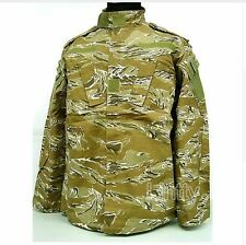 Camouflage Uniform Pants Jacket Camo Combat Army Military Desert Tiger Stripe