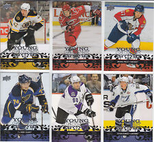 """2008-09 Upper Deck...""""COMPLETE SERIES ONE YOUNG GUNS SET"""" ...# 201-250"""