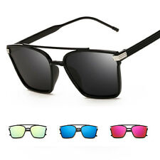 Fashion Womens Vintage Retro Mirror Aviator Sunglasses Eyewear Shades Glasses