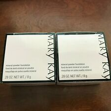 1 or 2 PACK Mary Kay MINERAL Powder Foundation with or w/o BRUSH, CHOOSE SHADE