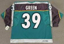 TRAVIS GREEN Anaheim Mighty Ducks 1997 CCM Throwback Alternate NHL Hockey Jersey