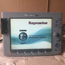 RAYMARINE E120 chartplotter Radar and fish finder  color screen