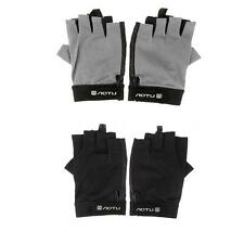 Cycling Bicycle Bike Gloves Half Finger Unisex Gloves Skidproof Sports B9V1