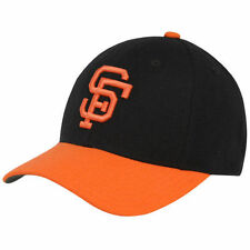 San Francisco Giants Black-Orange 1972-82 Throwback Cooperstown Fitted Hat - MLB