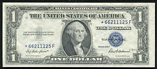 1935-F $1 ONE DOLLAR *STAR* SILVER CERTIFICATE CURRENCY NOTE UNCIRCULATED
