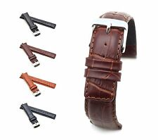 BOB Alligator Style Watch Band/Strap for IWC, 20-22 mm, 4 colors, new!