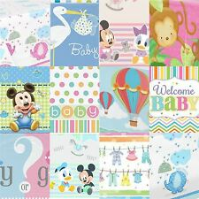 Baby Shower Table Cover Party Tableware Girl Boy Tablecover Pink Blue Unisex